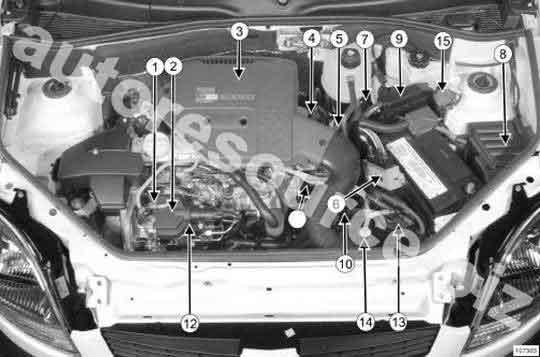 проверить проводку от номера 2 (клапан регулирования опережения впрыска) и 1 ( ТНВД) до номера 8 (БЗК) .